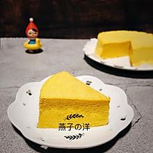 #父亲节,给老爸做道菜#【蒸】南瓜蒸蛋糕