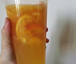 橙香十足的橙子茉莉绿茶的做法