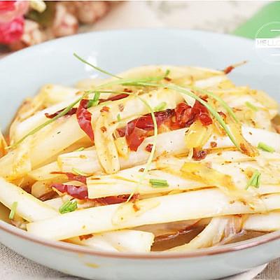 酸辣白菜新年健康减脂素菜#