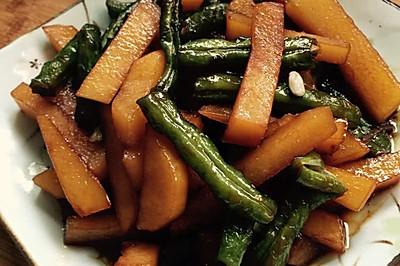 红烧刀豆土豆