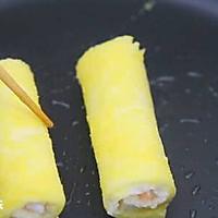 鲜虾吐司卷  宝宝辅食食谱的做法图解14
