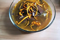 虫草花猪血汤的做法
