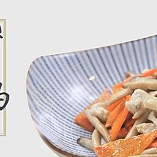 月子餐:杂菌鸡丝(补充蛋白质)