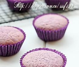 紫薯杯子蛋糕的做法