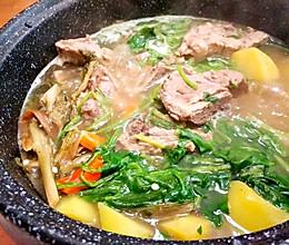 解酒养胃锅的做法