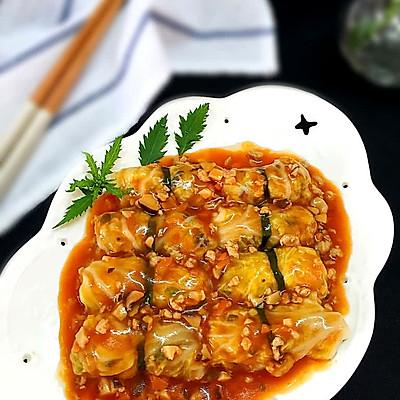 茄汁菜包卷