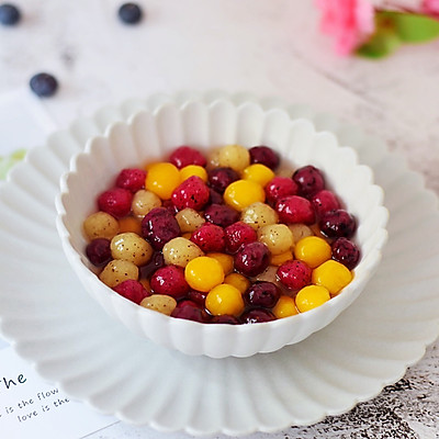 自制水果珍珠