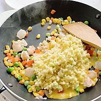 #春季减肥,边吃边瘦#无米减脂炒饭的做法图解8