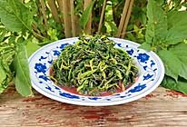 蒜香红苋菜的做法