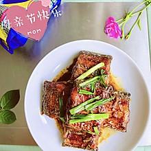 #以美食的名义说爱她#红烧带鱼