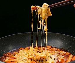芝士年糕炒鸡丨年糕软糯香甜,超美味的做法