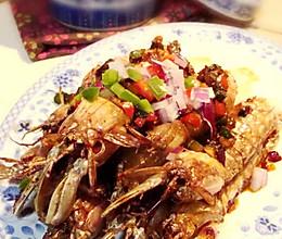 椒盐濑尿虾的做法