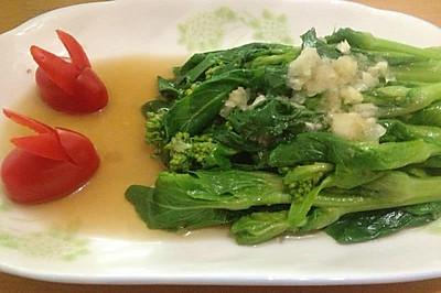 蒜蓉白菜苔