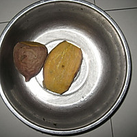 特别适合周末下午茶的小甜品--红薯麻圆的做法图解1