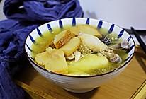 秋冬滋补暖身~猴头菇炖鸡汤的做法