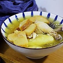 秋冬滋补暖身~猴头菇炖鸡汤