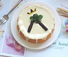 #秋天怎么吃#原味戚风芝士奶盖蛋糕的做法
