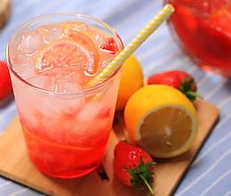草莓柠檬水-迷迭香的做法