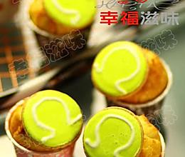 网球小蛋糕 的做法