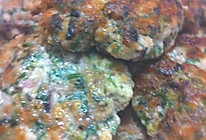 香煎荠菜饼