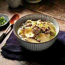 杂菇牛肉丸汤