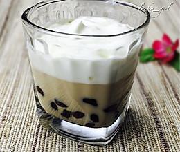 奶盖珍珠奶茶-完全自制的做法