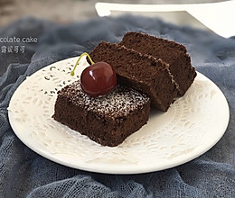 巧克力海绵蛋糕的做法