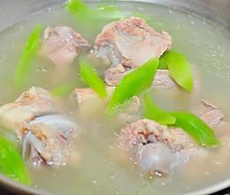 下奶汤系列之猪骨莴笋汤的做法