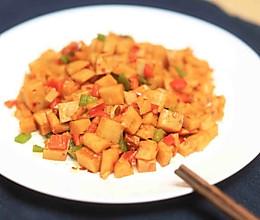 迷迭香—辣炒藕丁的做法