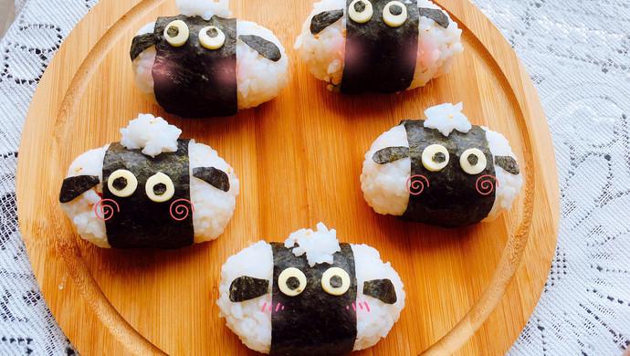 萌萌哒~小羊饭团