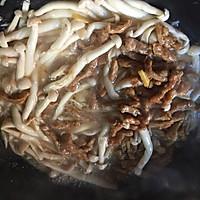 海鲜菇炒肉丝的做法图解7
