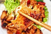 香煎黑椒鸡胸肉(少油低脂)的做法
