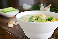 丝瓜疙瘩汤的做法