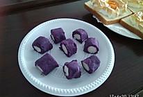 山药紫薯卷的做法