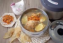 花胶虫草花焖鸡汤的做法