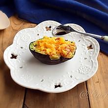 牛油果焗蛋#跨界烤箱 探索味来#