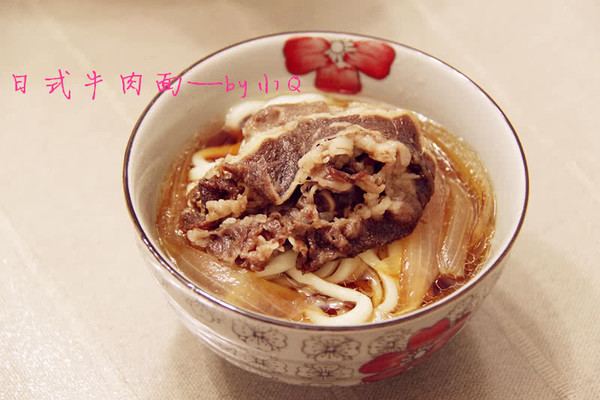 日式牛肉面的做法