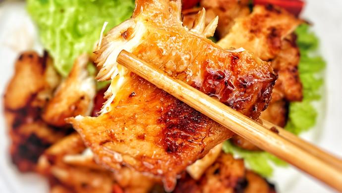 香煎黑椒鸡胸肉(少油低脂)