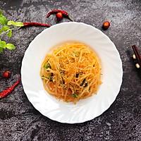 #花10分钟,做一道菜!#凉拌土豆丝的做法图解5