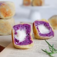 棉花糖紫薯仙豆糕#网红美食我来做#的做法图解18