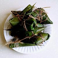 绿黍红花枣生粽的做法图解8