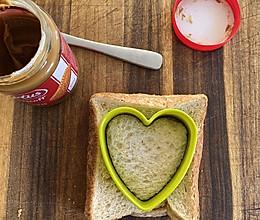 宝宝餐:1分钟三明治的做法