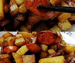 孜然土豆不需要烧烤的做法