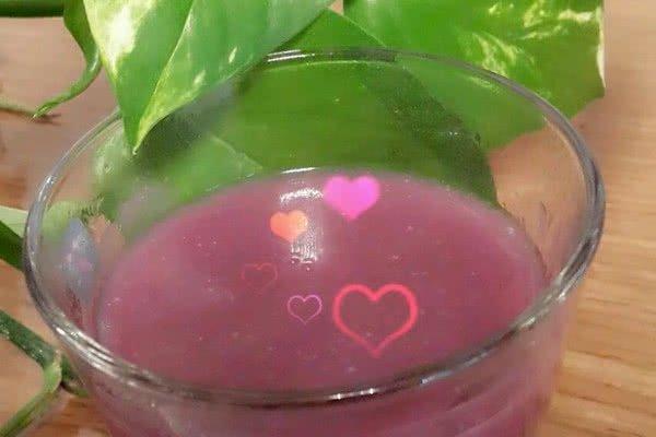 浓香紫薯米糊的做法