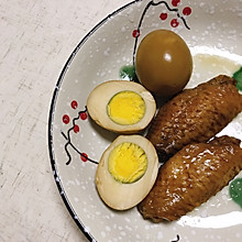 卤蛋卤鸡翅卤豆干各种卤味--电饭煲版