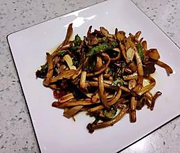 #520,美食撩动TA的心!#干煸茶树菇的做法