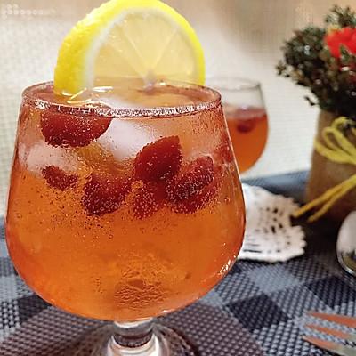 蔓越莓气泡酒#莓汁莓味