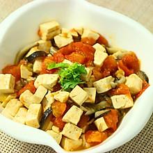 番茄香菇炖豆腐  宝宝餐单
