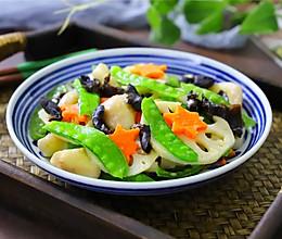 #快手又营养,我家的冬日必备菜品#荷塘小炒的做法