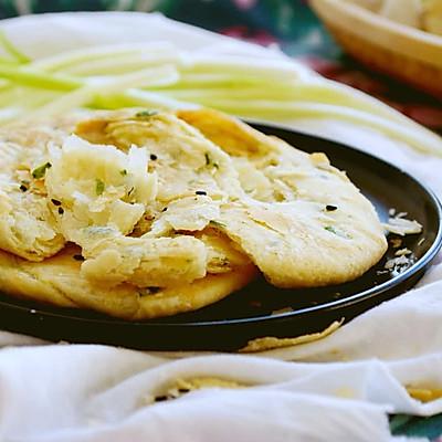 60期 簡單的濃香千層蔥油餅